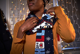 MILLER LITE UGLY SWEATER KNIT SCARF
