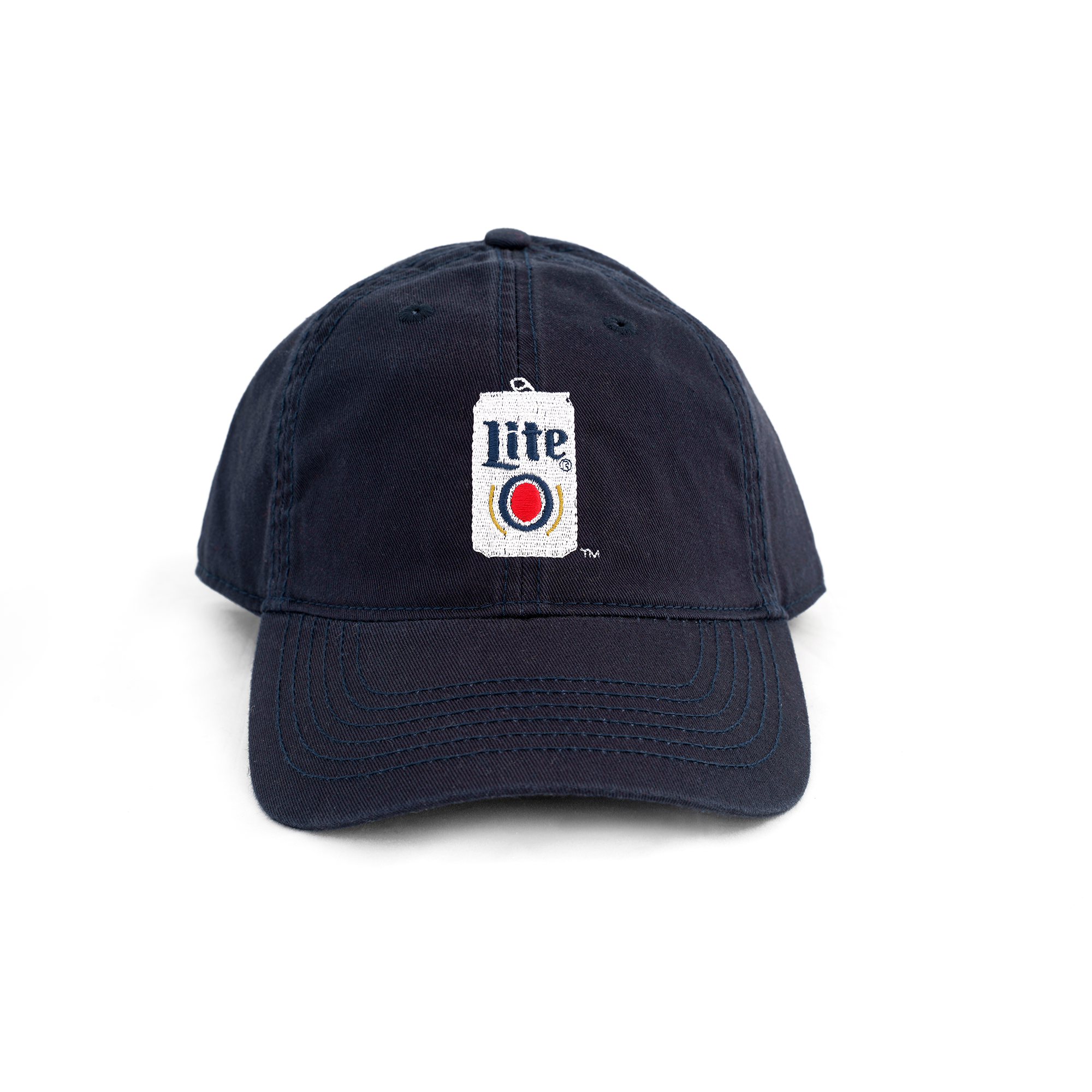 MILLER LITE CANVAS BALL CAP