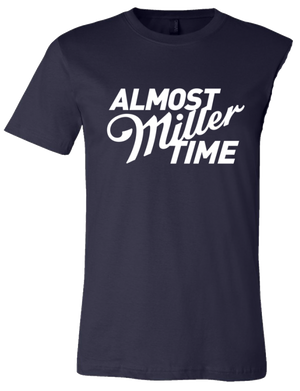 LIMITED EDITION MILLER LITE VAX TIME TEE NAVY