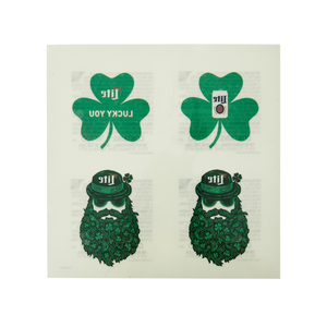 MILLER LITE ST PADDY'S TATTOOS
