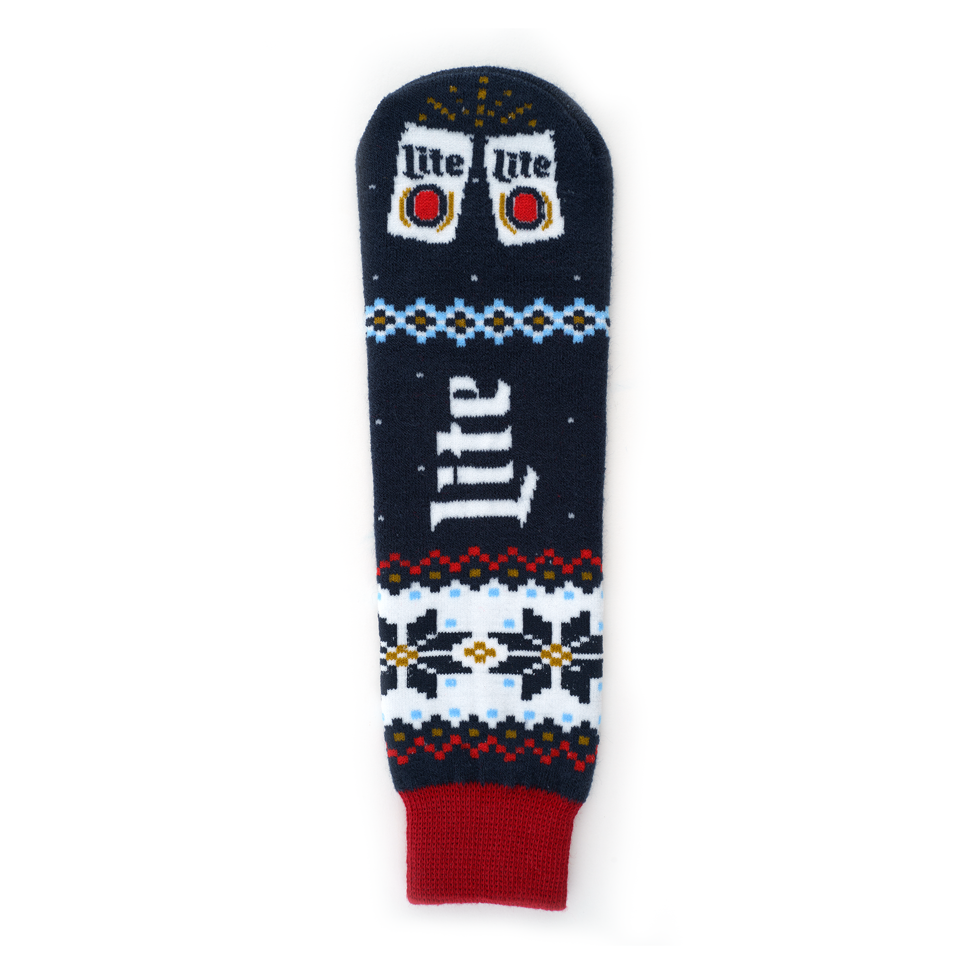 MILLER LITE TAP HANDLE UGLY SWEATER