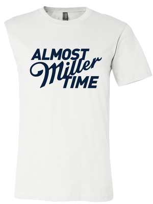 LIMITED EDITION MILLER LITE VAX TIME TEE WHITE