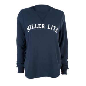 WOMENS MILLER LITE FLEECE CREW SWEATSHIRT