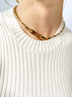 domestique Bold Chain Double Mousqueton Necklace