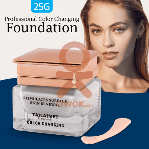 Image of Colour Changing Foundation