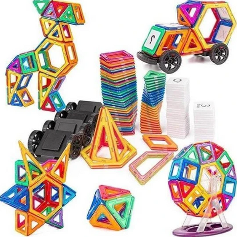 Image of Magnetic Building Blocks Set