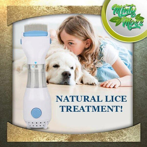 Image of Lice Control Electric Vacuum Comb