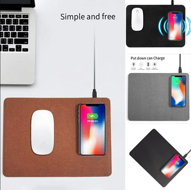 Wireless Fast Charging Mouse Pad Charger