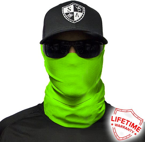 Image of Neon Green Face Shield
