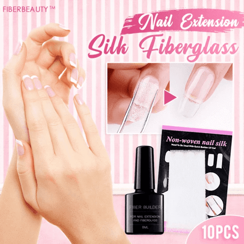 Image of FiberBeauty™ Nail Extension Silk Fiberglass (10PCS)