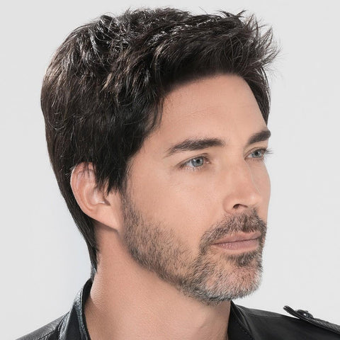 Image of Men's Wig  (black-1)