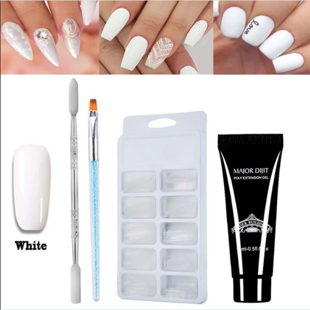 Poly Gel Nail Extension Kit-1