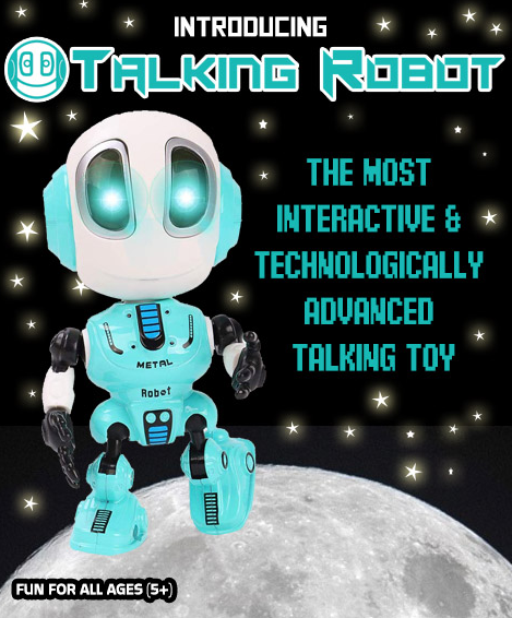 Talking Robot - Fun & Educational For All Ages!