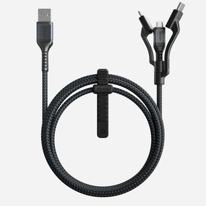 3 in 1 Military Fast Charging Cable (Android, Type C, Apple)