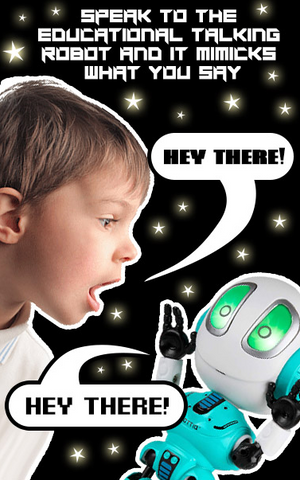 Image of Talking Robot - Fun & Educational For All Ages!