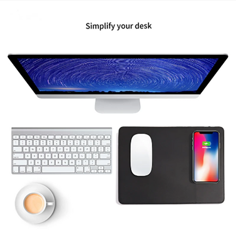 Image of Wireless Fast Charging Mouse Pad Charger