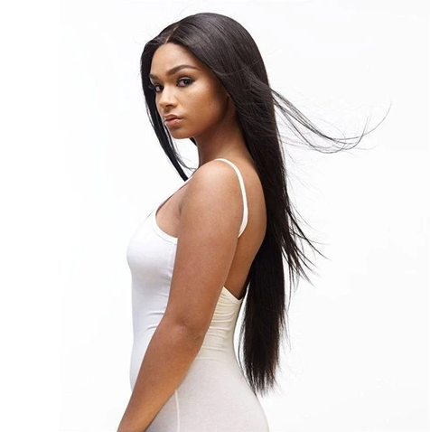 Image of 360 Lace Frontal Wig Straight Human Hair