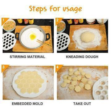 Image of DUMPLING MOLD