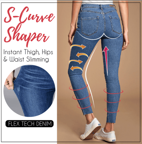 Image of PERFECT SHAPE PRO SLIMMING JEANS LEGGINGS