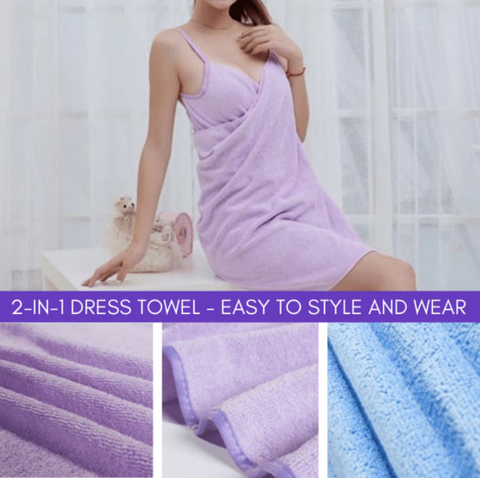 2 In 1 Towel Dress