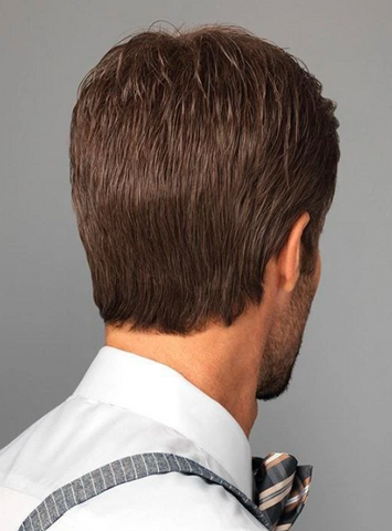Image of Men's Wig (black-4)