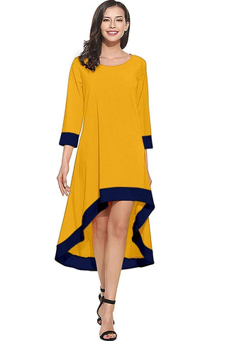 Image of Crepe Full Stitched Western Skater Fit and Flare Dress