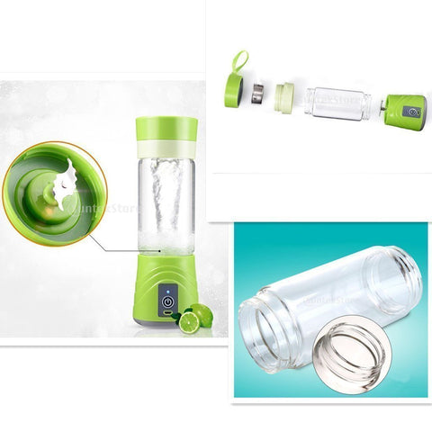Image of USB RECHARGEABLE PORTABLE JUICER