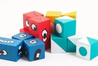 Image of Puzzle Building Cubes