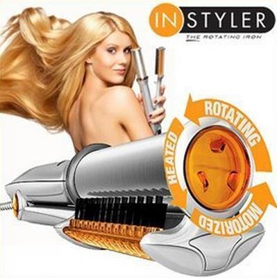 Image of InStyler 7 in 1 Rotating Iron Straightener And Curling