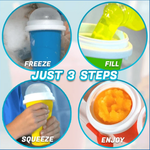 Image of Quick-frozen smoothies