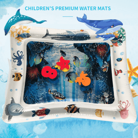 Tummy Time Inflatable Babies Water Mat