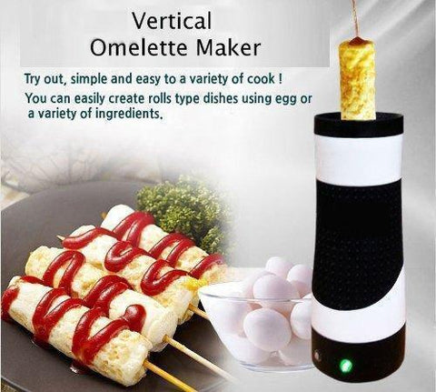 Image of ROLLIE HANDS - FREE AUTOMATIC ELECTRIC VERTICAL NONSTICK EASY QUICK EGG COOKER