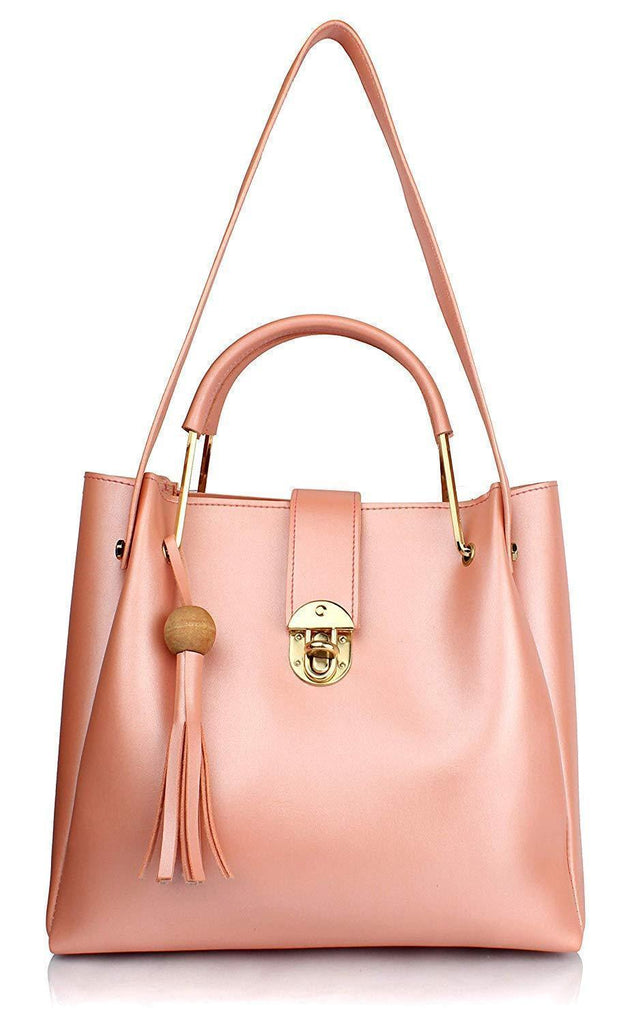 4 In 1 Leather Shopper Tote Bag (2020)