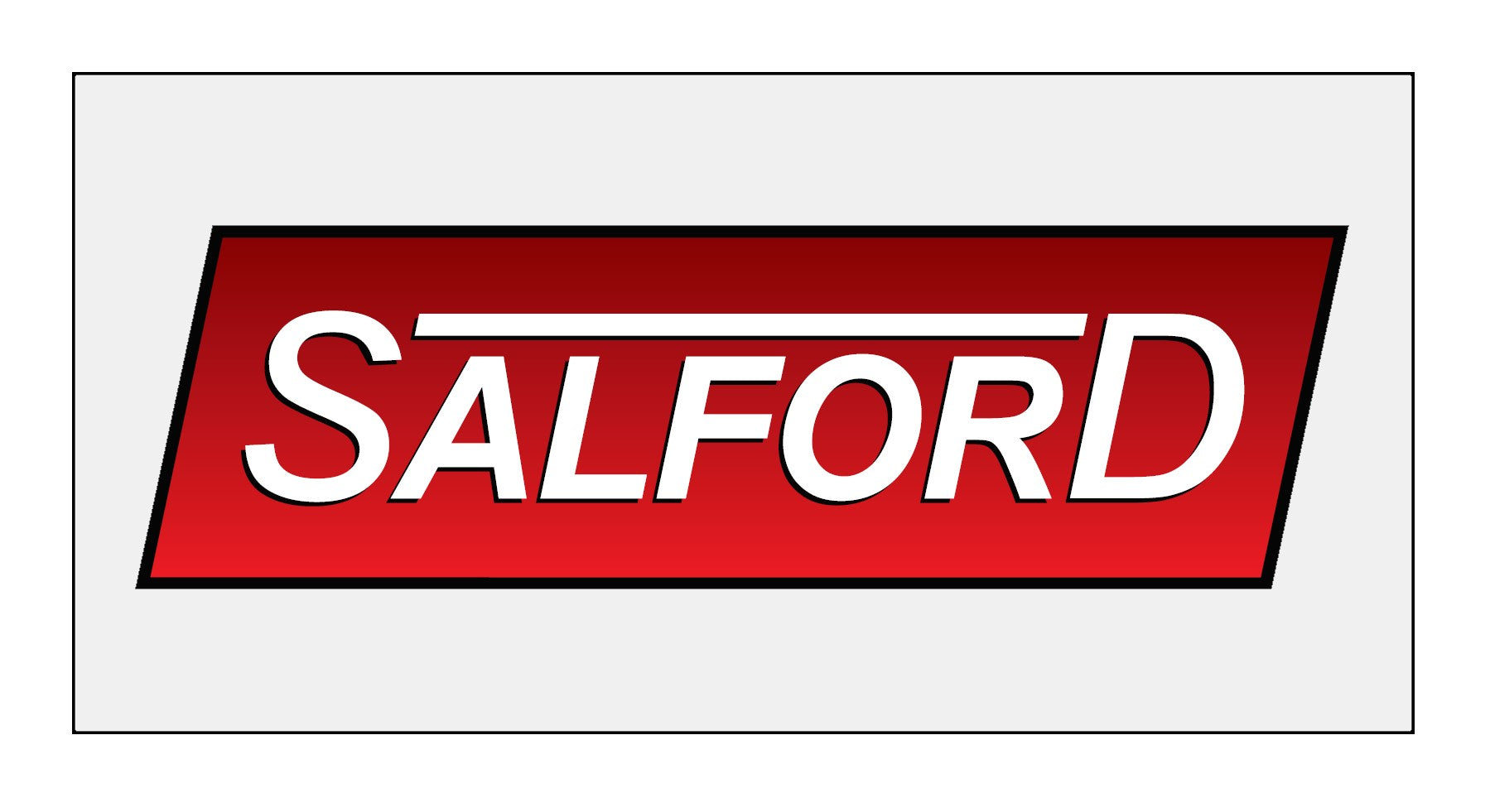 Outdoor Salford Sign