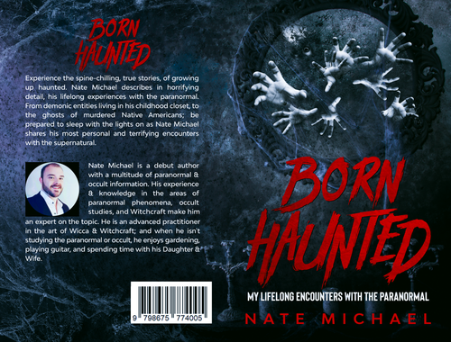 Born Haunted My Lifelong Encounters With The Paranormal Signed Book