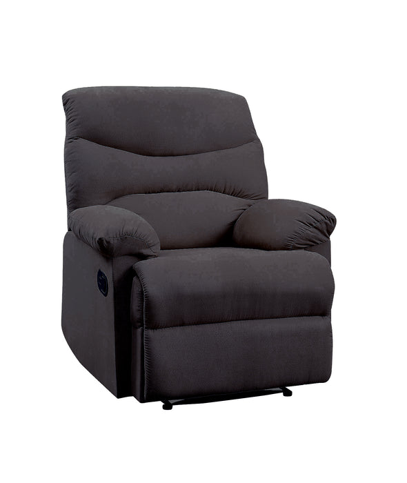 Arcadia Black Woven Fabric Recliner (Motion)