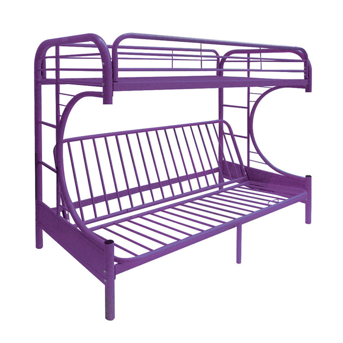 Eclipse Purple Bunk Bed (Twin/Full/Futon)