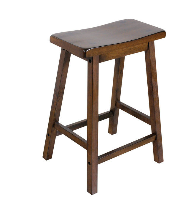 Gaucho Walnut Counter Height Stool