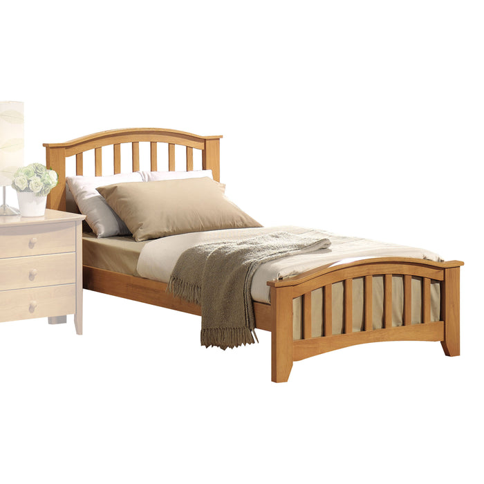 San Marino Maple Twin Bed