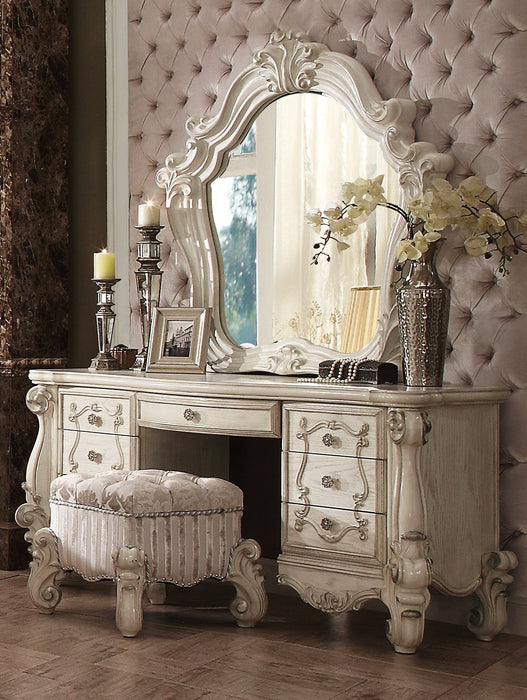 Versailles Bone White Mirror