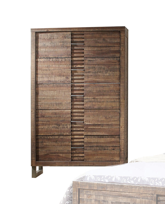Andria Reclaimed Oak Chest