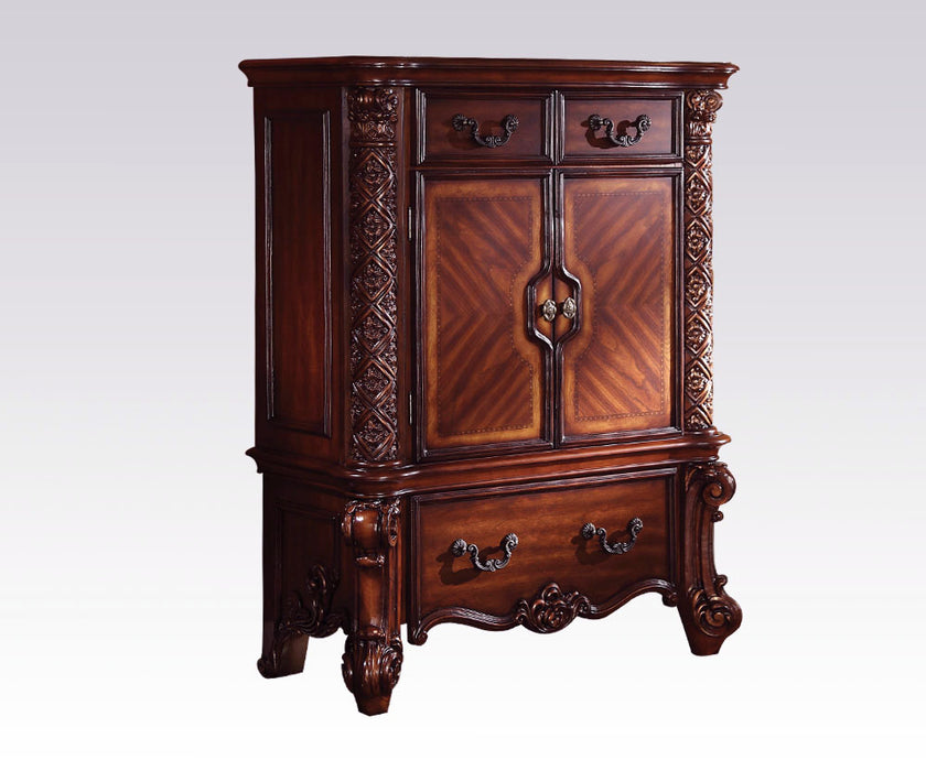 Acme Vendome Traditional Drawer Chest in Cherry 22006 CLOSEOUT image