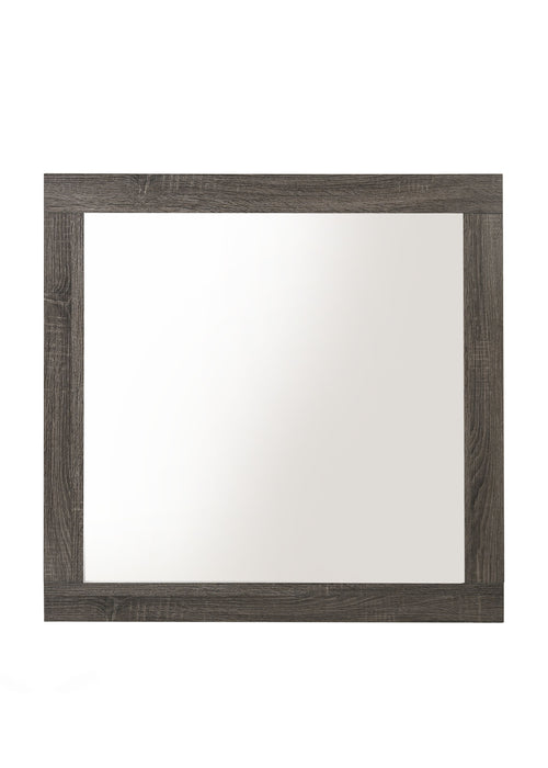 Avantika Rustic Gray Oak Mirror