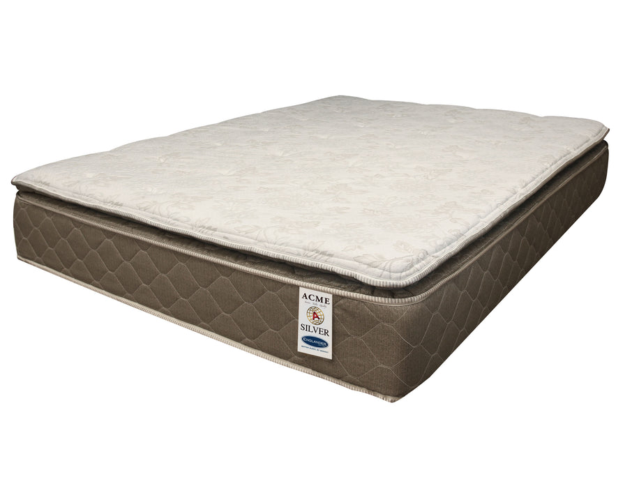 "Englander Silver 12"" Pillow Top Twin Mattress"