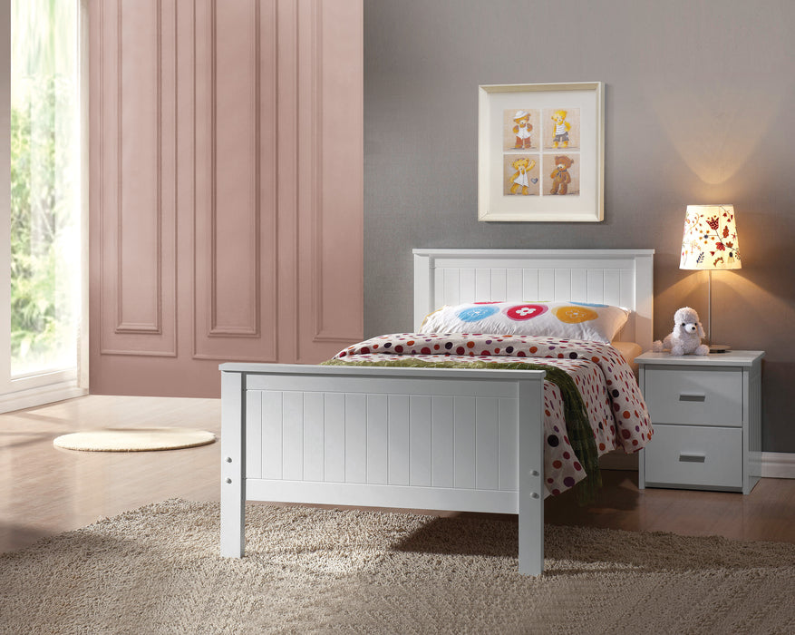 Bungalow White Twin Bed