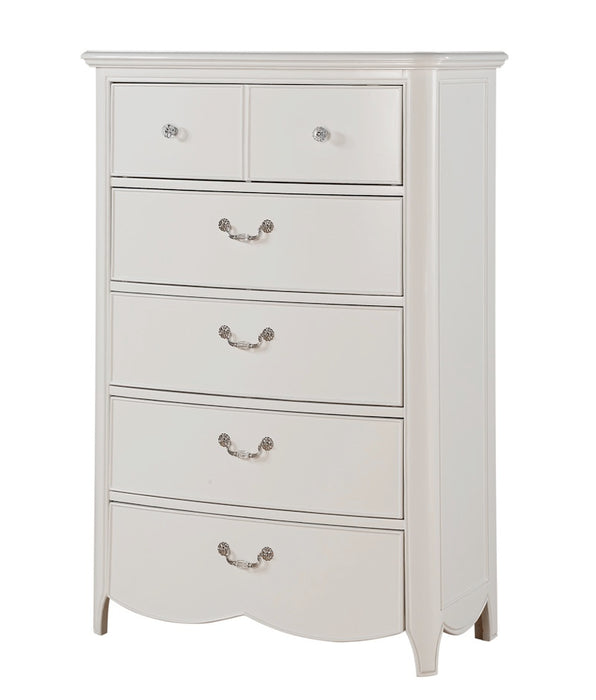 Cecilie White Chest