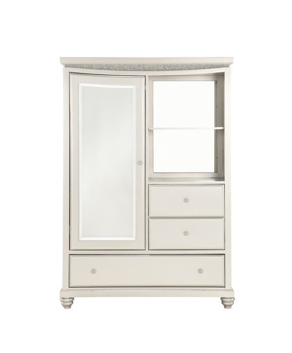 Maverick Platinum Armoire