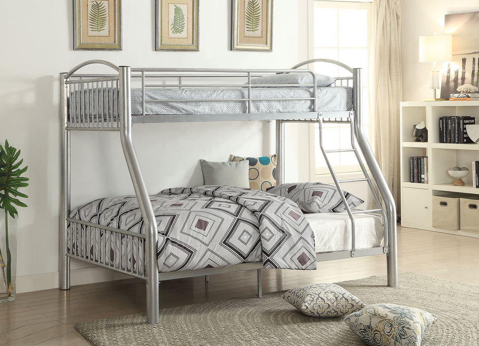 Cayelynn Silver Bunk Bed (Twin/Full)