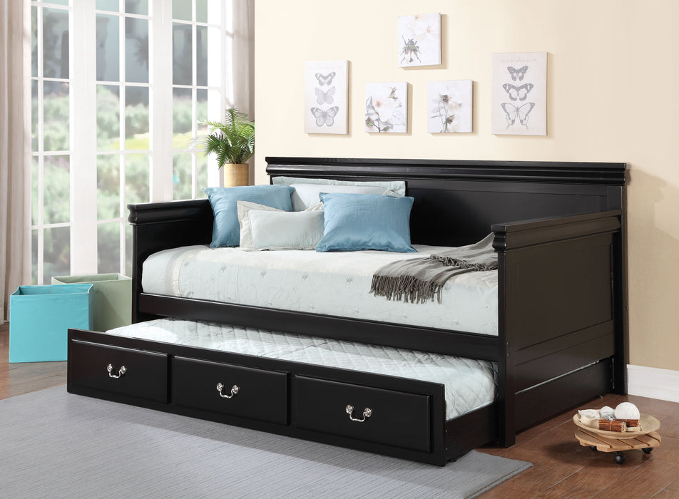 Bailee Black Daybed (Twin Size)