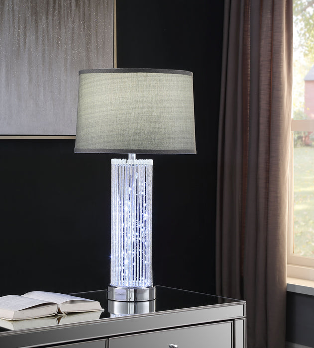 Glaus Chrome Table Lamp